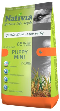 NATIVIA PUPPY MINI | DUCK&RICE